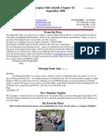 September 2008 Newsletter