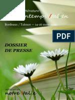 Le Printemps italien - Bordeaux/Talence