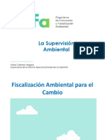 Supervision Ambiental