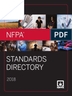 NFPA Standards Directory 2018