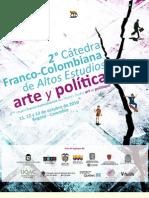 2 Catedra Franco Colombia de Altos Estudio - Brochure