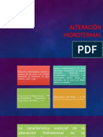 alteración hidrotermal
