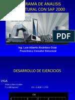 SAP 2000 EJERCICIOS.ppt