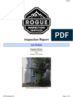 Inspection Report 2000 Brookhurst 22, Medford, OR 97504