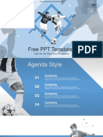 Soccer Sports PowerPoint Templates