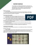 Reglas Mutant Meeples en Espanol