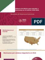 plan de apoyo a los mexicanos