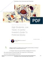High Dividends, Low Taxes_ A Careful Investor's Guide To Preferred Stocks.docx