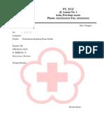 Draft Surat Permohonan Kegiatan Donor Darah