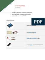 Arduino y Los Shift Registers