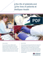 Extending the life of platelets and protecting the lives of patients at WellSpan Health