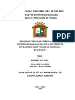 TESIS RECURSOS TURISTICOS DE SAN JUAN DE LORO Y PUTINA PARA ECOTURISMO.docx