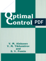 (Contemporary Soviet Mathematics) V. M. Alekseev, V. M. Tikhomirov, S. V. Fomin (auth.)-Optimal Control-Springer US (1987).pdf