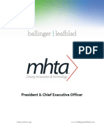 Executive Position Profile-MN High Tech Association-President-CEO