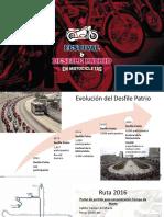 Presentación Desfile y Festival motero 2016