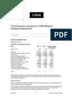 CMGA May 2010 Answers Typeset