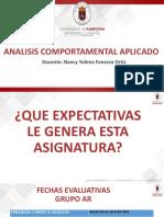 Introducción Análisis Comportamental Aplicado
