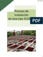 CLASE Proceso de Instalación LOSA ECONSA