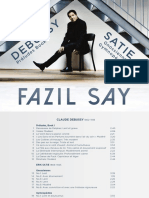 Booklet Fazil Say