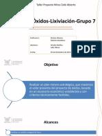 G7_OXIDO_Taller Proyecto Mina Cielo Abierto