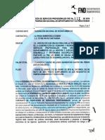 El contrato de Alfredo Bula, ficha de 'los ñoños' en Fonade, con la Federación de Departamentos