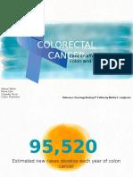 Pathophysiology for Colorectal Cancer