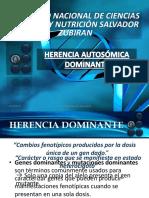 Herencia Autosómica Dominante. (1)