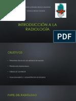 Tema 1. Introduccion a La Radiologia