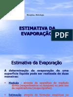 783850-Estimativa Da Evaporação