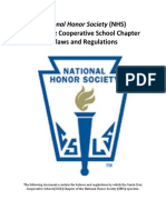 national honor society bylaws sccs