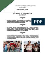 Leyes y Normas de Los Pueblos Indigenas de Guatemala