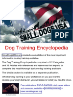 Dog Training Encyclopedia