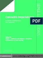 G. Alan Marlatt (Foreword), Roger Roffman, Robert S. Stephens (Editors) - Cannabis Dependence_ Its Nature, Consequences and Treatment (2006).pdf