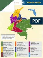 Mapa sedes unad
