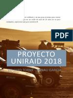 Propuesta Colaboración Raid Solidario