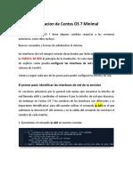 Configuracion Red Centos 7 Minimal.docx