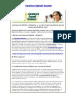 Franchise Growth System   Franquicia Máster   Oportunidad de negocio