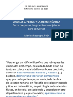 Seminar i o Mariluz Restrepo 2017
