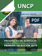 PROSPECTO DE ADMISIÓN PRIMERA SELECCIÓN 2019.pdf