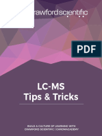 LC-MS Tips & Tricks