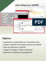Introducción a Instrumentación virtual con Labview