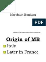 Merchant Banking in India- Last