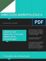 Dirección Antropológica -Hilda Cervera - Criminología descripción de las aportaciones de la antropología a la terminología