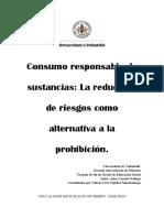Consumo Responsable de sustancias psicoactivas