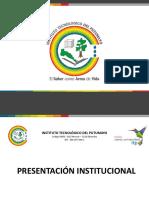 1. Presentacion Institucional 2019
