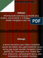 Guillan Barre Sindrome