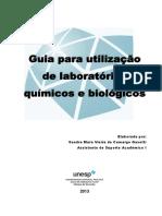 Treinamento Para Utilizacao de Laboratorios Quimicos e Biologicos Leitura