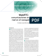 Web RTC Document