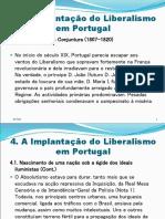 A Implantacao Do Liberalismo Em Portugal