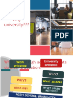 Why University